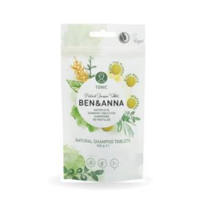 Madre Selva Cosmetics- Champú en pastilla Ben & Anna