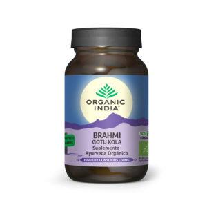 Brahmi Gotu Kola 90 cápsulas - ORGANIC INDIA