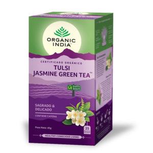 Tulsi Jasmine Green Tea - ORGANIC INDIA