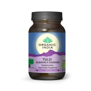 Tulsi (Holy Basil) 90 cápsulas - ORGANIC INDIA