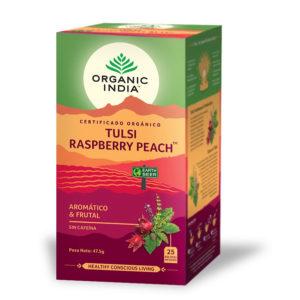 Tulsi Raspberry Peach - ORGANIC INDIA