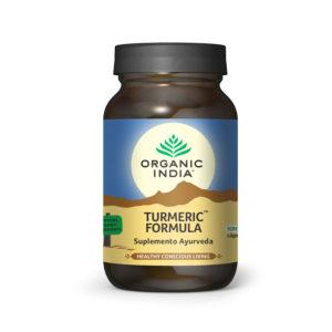 Turmeric Formula 90 cápsulas - ORGANIC INDIA
